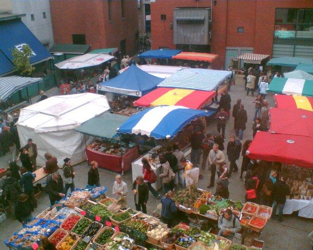 marchés à Dublin