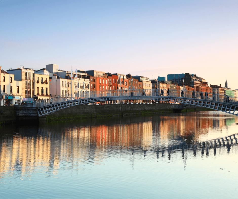 Famosos en Dublin - passeggiare a dublino